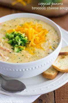 Copycat Panera Broccoli Cheese Soup | http://therecipecritic.com | #recipe #soup #broccoli