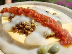 Queso Relleno. Exquisita combinación de sabores y texturas. Yucatán, México