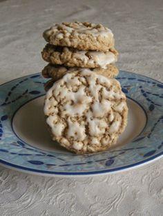 Jolene's Recipe Journal: Iced Oatmeal Cookies