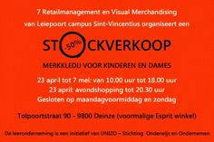 7RVM stockverkoop -- Deinze -- 23/04-07/05