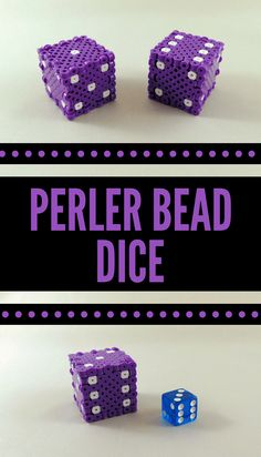 How to make Perler Bead dice