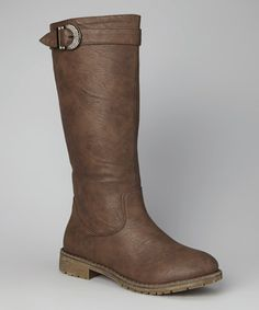 Love this Brown Boot by TOP MODA http://www.zulily.com/invite/blondemomblog (my affiliate link)