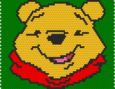 Winnie The Pooh bead pattern
