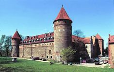 Bytow Castle built in 1398-1405. Castle in Bytow, Pomorskie province, Poland.