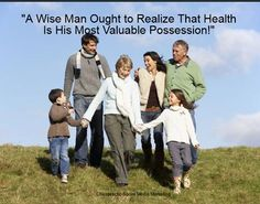"""A wise man ought to realize that health is his most valuable possession!""    Algonquin Chiropractic Center  http://www.algchiro.com/  #chiropractor"