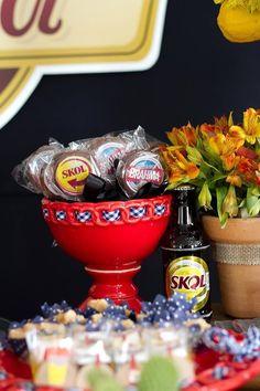 17Cha Bar Festa Boteco do Gobira serafina eventos pão de mel personalizado cervejas