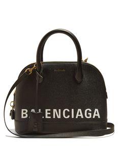 Balenciaga Ville Top Handle S Bag - Womens - Black White Balenciaga Handbags, Balenciaga Bag, Burberry Handbags, Chanel Handbags, Louis Vuitton Handbags, Givenchy, Luxury Handbags, Burberry Bags, Designer Handbags
