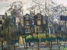 """Carel Weight, """"I Live Here"""" (c. 1953-1954)"""