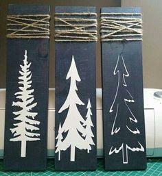 Christmas Wood Crafts, Pallet Christmas, Christmas Signs, Outdoor Christmas, Homemade Christmas, Christmas Projects, Christmas Art, Simple Christmas, Winter Christmas