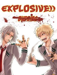Gokudera from Katekyo Hitman Reborn! and Bakugou from Boku no Hero Academia…