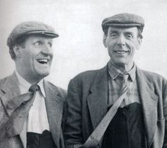 Tommy Cooper with Eric Sykes