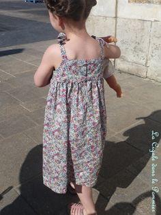 """Robe à bretelles des """"Intemporelles pour enfants"""""""
