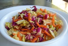 Smoky Cabbage Slaw | Simple Daily Recipes