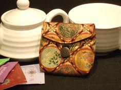 Tea Bag Travel Wallet - Imperial Red, $9.95