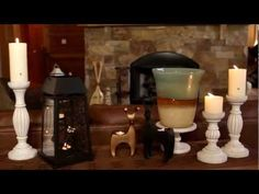 Decorating Your Home With Natural Elements by PartyLite® Candles  #DECORATE #CANDLES #PARTYLITE