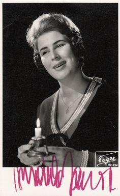 Gundula Janowitz als Mimi Wien 1961