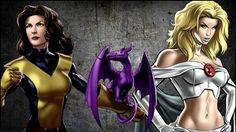 Китти Прайд vs Эмма Фрост | Kitty Pryde vs Emma Frost (Marvel Comics)