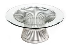 Photograph of Warren Platner Coffee Table