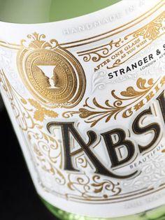 Stranger & Stranger Christmas Absinthe No12 by Stranger Creative , via Behance