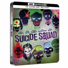 Suicide Squad (2016) 4K Ultra HD + Blu-ray Steelbook