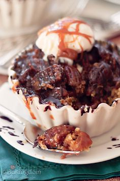 Delicious Caramel Pecan Tart by Bakingdom (can be made gluten free)