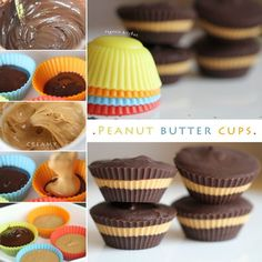 DIY Peanut Butter Cups Pictures, Photos, and Images for Facebook, Tumblr, Pinterest, and Twitter