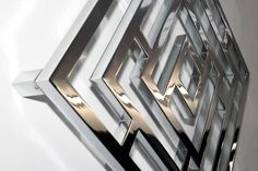 Stainless Steel or Chrome Finish. Maybe you would like a coloured option? Chrome Finish, Stainless Steel, Maze, Color, Colour, Labyrinths, Colors
