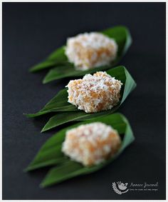 Sweet Potato Gems 甜番薯椰丝糕   Anncoo Journal - Come for Quick and Easy Recipes