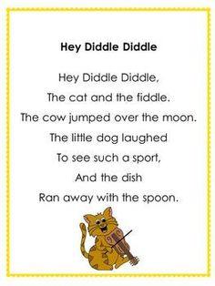 Nursery Rhyme Posters - CUTE!!!