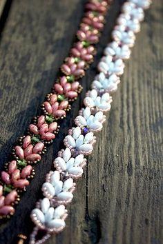 Lernprogramm Lotus-Kette Perlen Armband mit von MadeByOlga auf Etsy
