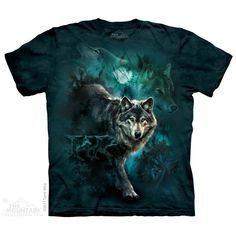 Night Wolves Collage T-Shirt $22.00 Use code: NWC15 for 15% off. The Mountain T-shirts.