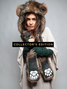 Grizzly Bear Collectors Edition by spirit hoods. This would be my only non-wolf hood.