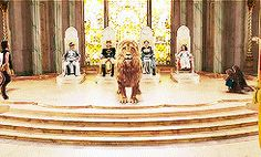 """""""Once a King or Queen of Narnia, always a King or Queen of"""" 