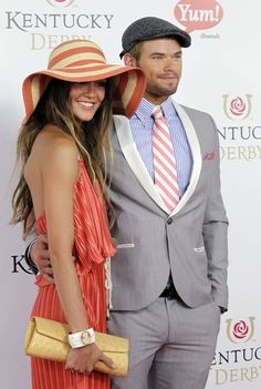 Love Sharni Vinson's outfit at the Kentucky Derby!