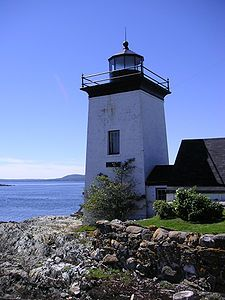This is Grindel Point lighthouse in Islesboro, Maine! I am going there in 3 weeks and I will take lots of pics. So exciting.#Maine#Lighthouses@Lauren Daley3