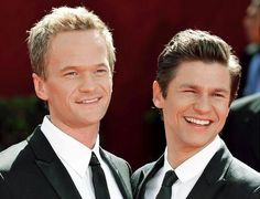 Neil Patrick Harris and David Burtka met on the set of How I Met Your Mother in 2004 when Burtka guest starred as Scooter. NPH admitted to falling harder for Burtka and was the first to say 'I love you'. But Burtka was actually the one to propose first. After 10 years of being each other's better halves, the couple finally wed n 2014. They've also adopted two 4-year-old fraternal twins, with whom they take adorable Halloween pictures with every year.