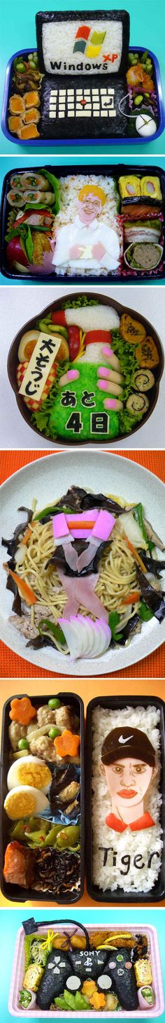 Amazingly Creative Bento Art