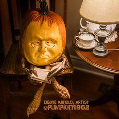 My husband is at it again. Halloween 2018, Halloween Stuff, Halloween Pumpkins, Halloween Ideas, Happy Halloween, Halloween Decorations, Amazing Pumpkin Carving, Pumpkin Carvings, Pumpkin Art