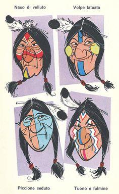 Trucco indiani