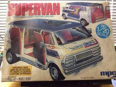 VTG MPC 1974 Ford  SUPERVAN Custom  Van 1/20 Enough To Restore Or Parts   #MPC3061