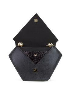 Diamond Bag, Black - Front