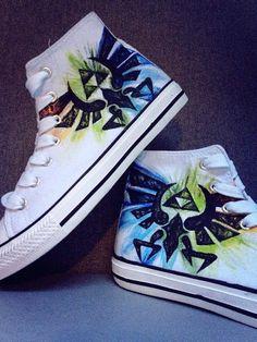 Legend of Zelda Triforce Schuhe von ZeldaCrap auf Etsy