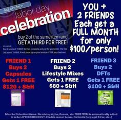 This is so smart! Get two friends to thrive with you & you can each get your month for only $100! #labordaysale #sundayvibes #todayonly #timetostockup #just3simplesteps #easyas123 abbytruglio.le-ve...
