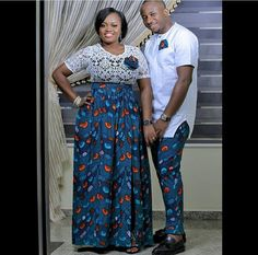 Checkout these Beautiful Ankara Couples Matching Outfit - Ankara collections brings the latest high street fashion online Couples African Outfits, African Wear Dresses, African Fashion Ankara, Latest African Fashion Dresses, African Print Fashion, African Attire, High Street Fashion, Ankara Stil, Matching Couple Outfits