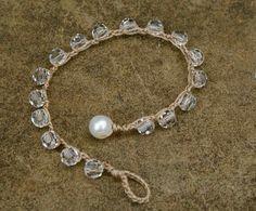 70 Ideas For Jewerly Making Vintage Bracelet Tutorial - Diy Jewelry Vintage Armband Tutorial, Bracelet Tutorial, Bohemian Jewelry, Beaded Jewelry, Beaded Bracelets, Swarovski Bracelet, Crochet Bracelet, Wedding Bracelet, Jewelry Patterns