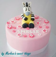 Zeo The Zebra cake - Zeo Das Zebra Torte