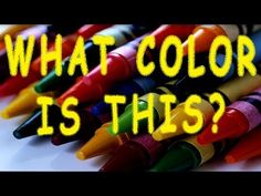 Colors Song for Children -- What Color is This? by The Learning Station
