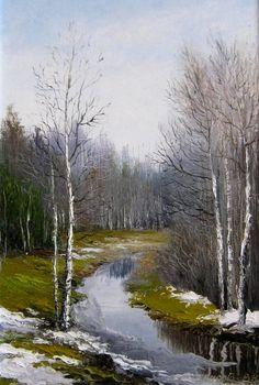 Природа карельского края в картинах Василия Денисова « FotoRelax