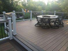 Deck Design Ideas Trex Cedar Hardwood Alaskan0164 In 2019