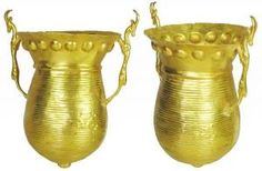 Rare Ancient Persian 22kt Gold Vessel (dates to roughly 500BC - During the Achaemenid Empire)